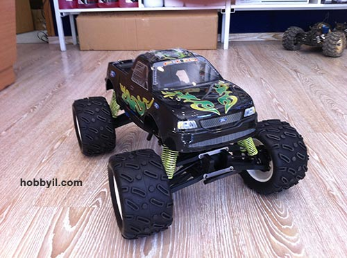 SMARTECH Nitro RC MONSTER 4WD
